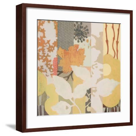 Natural Fragments I-Sally Bennett Baxley-Framed Art Print