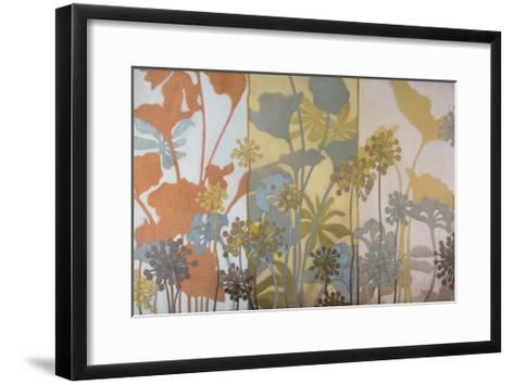 Meadow Pods-Sally Bennett Baxley-Framed Art Print