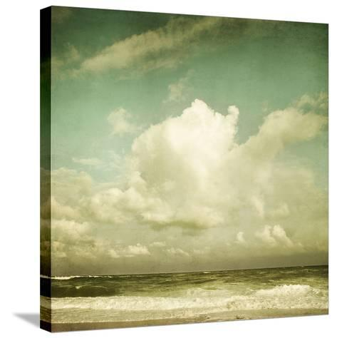 Why Don?t Clouds Fall from the Sky?-Irene Suchocki-Stretched Canvas Print