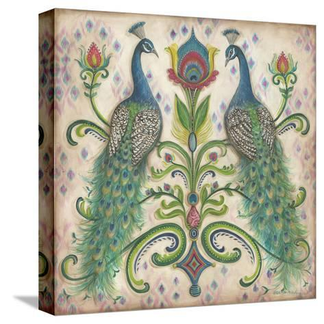 Feathered Splendor II-Kate McRostie-Stretched Canvas Print