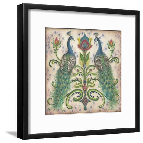 Feathered Splendor II-Kate McRostie-Framed Art Print