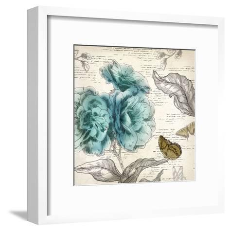 Blooming Teal II - Mini-Aimee Wilson-Framed Art Print