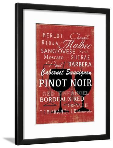 Red Wine Collection - Mini-Aimee Wilson-Framed Art Print