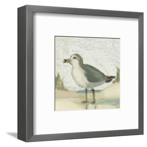 Beach Bird II-James Wiens-Framed Art Print