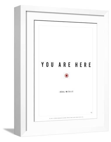 You Are Here-Antoine Tesquier Tedeschi-Framed Art Print