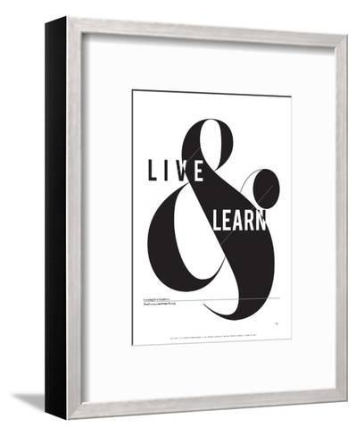 Live and Learn-Antoine Tesquier Tedeschi-Framed Art Print