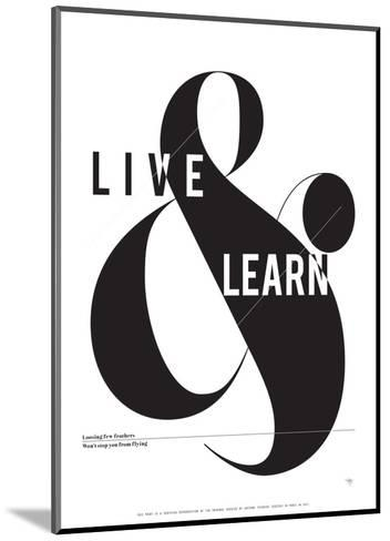Live and Learn-Antoine Tesquier Tedeschi-Mounted Art Print