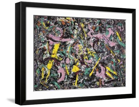 Unformed Figure, 1953 -Jackson Pollock-Framed Art Print