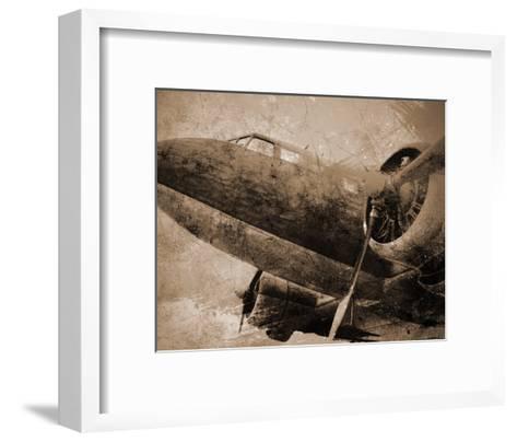 Antique Plane I--Framed Art Print