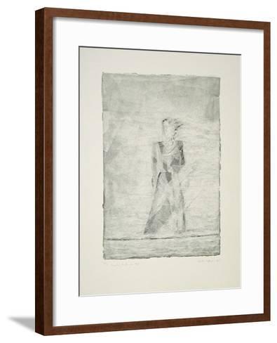 Draußen, hinter dem Riß-Martin Hoffmann-Framed Art Print