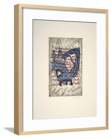 Ist eine Welt zu denken-Helga Schröder-Framed Art Print
