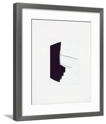 Schiff ohne Aquavit-Hubert Kiecol-Framed Art Print