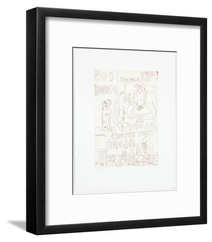 It's Enough-Elke Krystufek-Framed Art Print