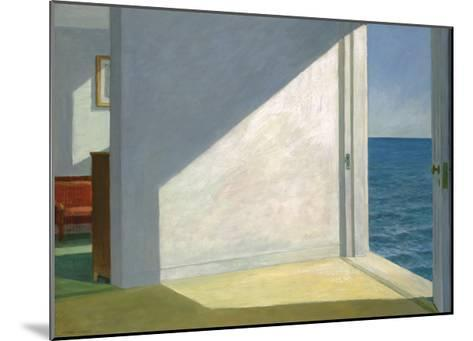 Rooms by the Sea-Edward Hopper-Mounted Art Print