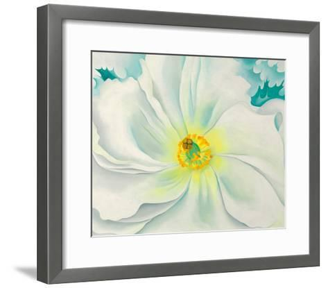 White flower 1929 art print by georgia okeeffe the new art white flower 1929 georgia okeeffe framed art print mightylinksfo