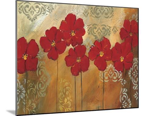 Red Symphony I-Lilian Scott-Mounted Giclee Print