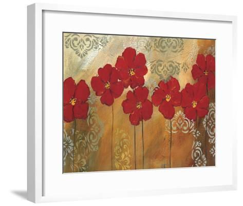Red Symphony I-Lilian Scott-Framed Art Print