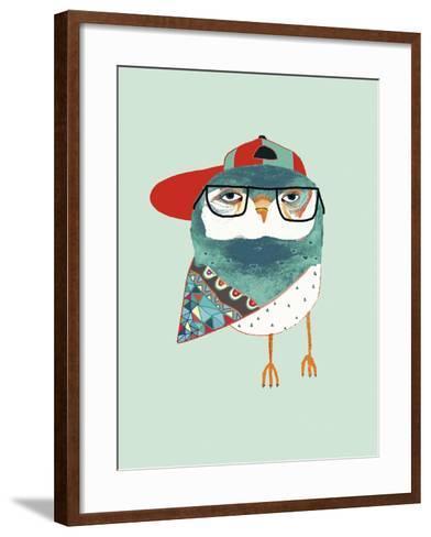 Cool Owl-Ashley Percival-Framed Art Print