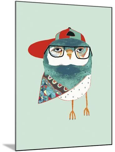 Cool Owl-Ashley Percival-Mounted Giclee Print