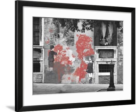 Street Style I-Tom Frazier-Framed Art Print