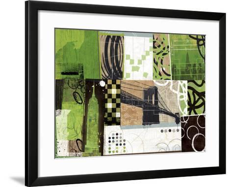 Urban Abstract-Philip Brown-Framed Art Print