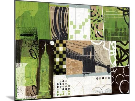 Urban Abstract-Philip Brown-Mounted Giclee Print
