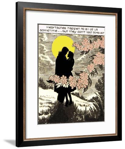 Heartaches Happen-Roy Newby-Framed Art Print