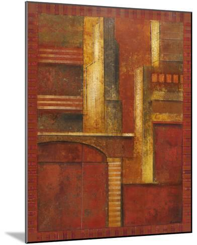 City Towers I-Giovanni-Mounted Giclee Print