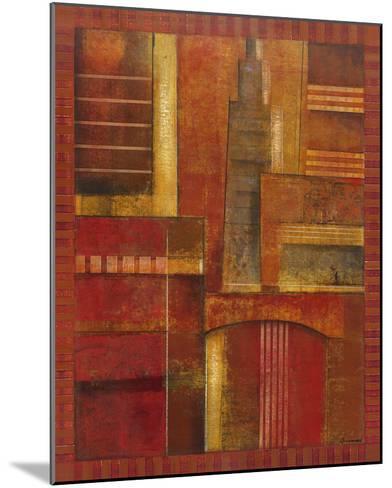 City Towers II-Giovanni-Mounted Giclee Print
