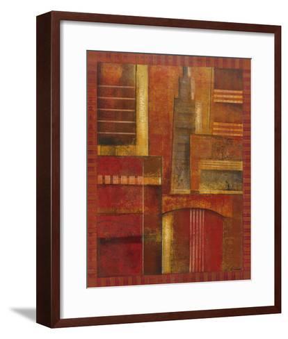 City Towers II-Giovanni-Framed Art Print