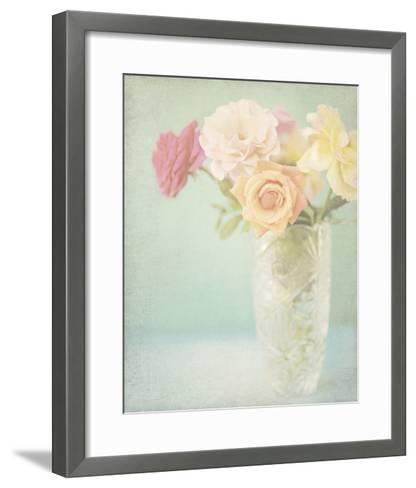 Pastel Roses-Shana Rae-Framed Art Print