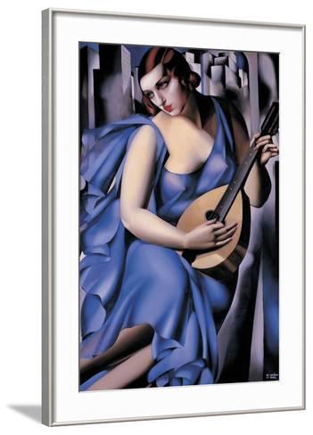 The Musician-Tamara de Lempicka-Framed Art Print