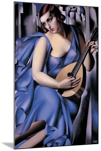 The Musician-Tamara de Lempicka-Mounted Giclee Print