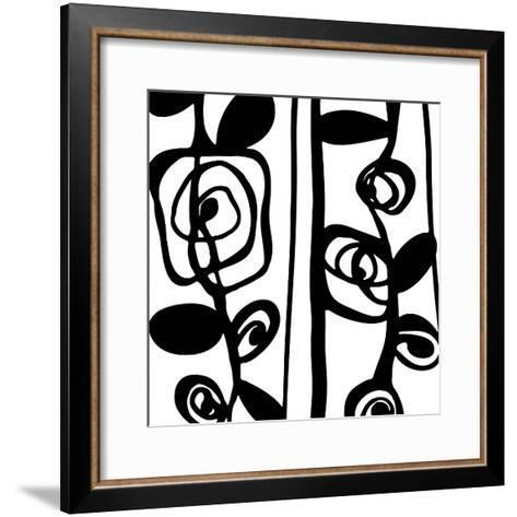 Pure Linear I-Clara Wells-Framed Art Print