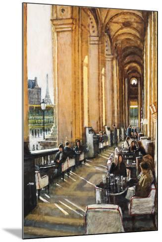Conversations, Cafe Marley, Paris-Clive McCartney-Mounted Giclee Print