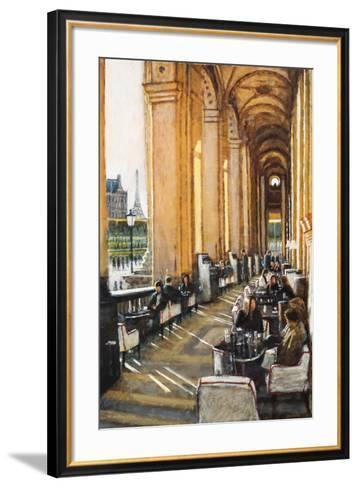 Conversations, Cafe Marley, Paris-Clive McCartney-Framed Art Print