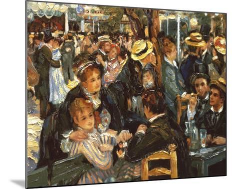 Le Moulin de la Galette-Pierre-Auguste Renoir-Mounted Preframe Component - Art