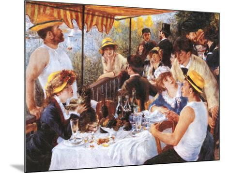 The Luncheon of the Boating Party, c.1881-Pierre-Auguste Renoir-Mounted Preframe Component - Art