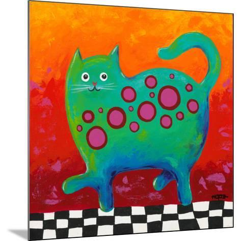 Funny Kitty-Y^ Hope-Mounted Art Print