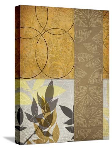 Yellow Leaf-Cynthia Alvarez-Stretched Canvas Print
