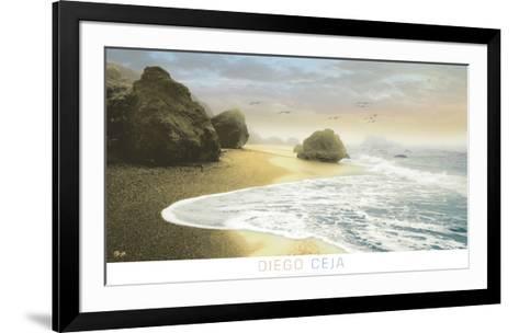 Bodega Beach 1-Diego Ceja-Framed Art Print