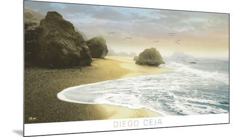 Bodega Beach 1-Diego Ceja-Mounted Art Print