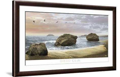 Bodega Beach 2-Diego Ceja-Framed Art Print