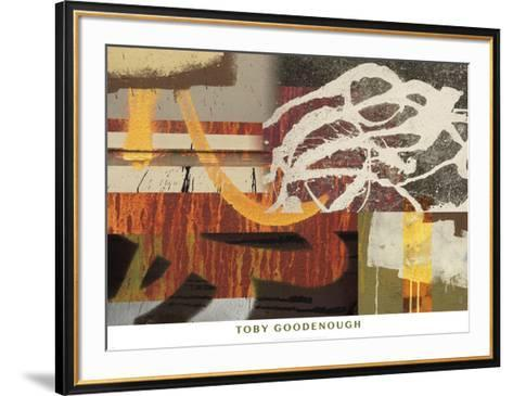 Hollis to East 12th-Toby Goodenough-Framed Art Print