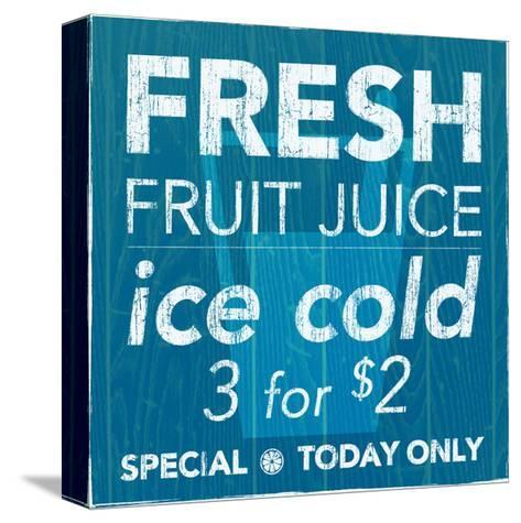 Fresh Juice-Kristin Emery-Stretched Canvas Print
