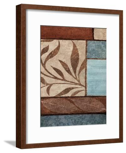 Simple Flow 2-Kristin Emery-Framed Art Print