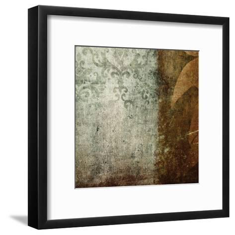 Spice Leaves 1C-Kristin Emery-Framed Art Print