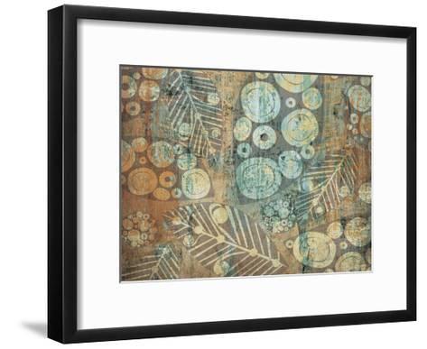 Painted Leaves 1-Kristin Emery-Framed Art Print