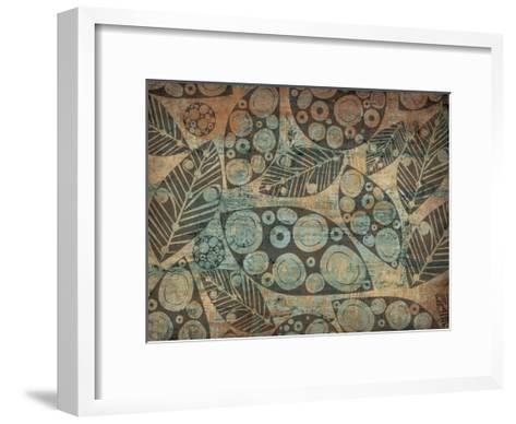 Painted Leaves 3-Kristin Emery-Framed Art Print