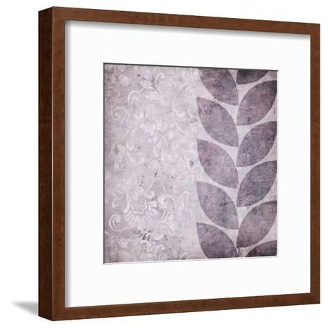 Purple Leaves-Kristin Emery-Framed Art Print
